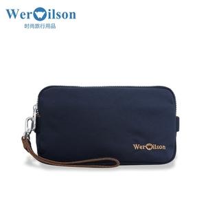 werwilson/威尔逊<span class=H>男包</span>热销休闲布包小方包手拿包钱夹<span class=H>钱包</span>22130-2