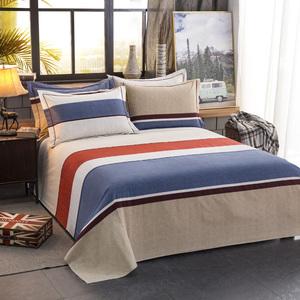 纯棉床单加厚磨毛全棉布料被单
