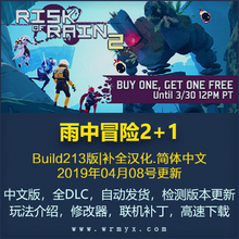 Rain Adventure 2+1 Chinese Online Risk of Rain 2 PC Game Collection