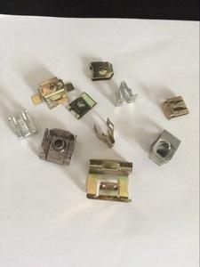 件五扣,汽摩仪表台金属零配件冲压汽车金卡
