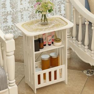 北欧<span class=H>茶几</span>简约客厅小圆桌小户型阳台边几卧室床头柜简易创意方桌子