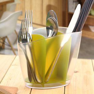 简约厨房筷子筒沥水筷子笼创意筷笼家用筷子盒多功能塑料汤勺架子