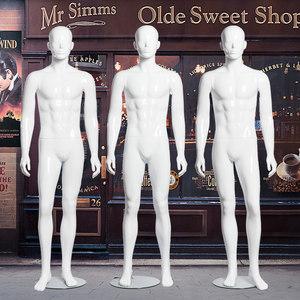 装店人台假人男模特架全身模特道具男高档男装店展示架橱窗人体服