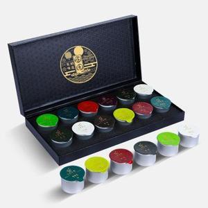 十二大名茶组合 茶叶礼盒装 <span class=H>铁观音</span>黑<span class=H>乌龙茶</span><span class=H>大红袍</span>肉桂送礼 12。