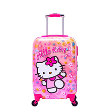 Children's pull-rod suitcase cartoon suitcase Princess girl 18-inch child suitcase Male 20-inch universal wheel suitcase