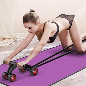 腹肌轮健腹轮减肚子收腹健身器材<span class=H>家用</span><span class=H>男士</span>女初学者<span class=H>锻炼</span>滚轮马甲线
