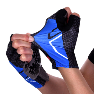 骑行手套半指山地自行车手套短指夏季男女单车装备减震防滑手套