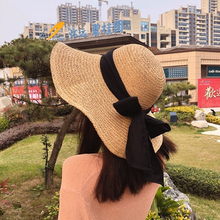 Korean version Sun Hat Women sunscreen shade face travel Baitao Beach Hat summer beach straw hat summer sun hat