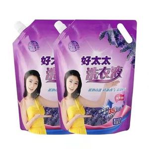 500g好太太<span class=H>洗衣液</span>植萃低泡去渍洁净衣物护理清香温和清洗剂洗涤