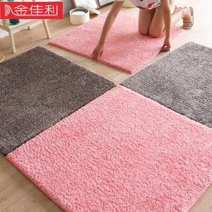 地毯卧室满铺房间拼接加厚客厅防滑家用榻榻米垫子网红床边<span class=H>地垫</span>