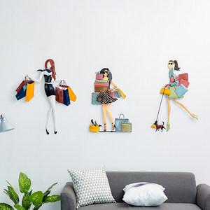 创意复古铁皮画服装女装店墙上墙面背景墙装饰品个性<span class=H>墙饰</span>墙壁挂件