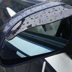 汽车后视镜雨眉遮<span class=H>雨挡</span> <span class=H>车用</span>晴<span class=H>雨挡</span>雨眉(2片装) 75G质量好的高品质