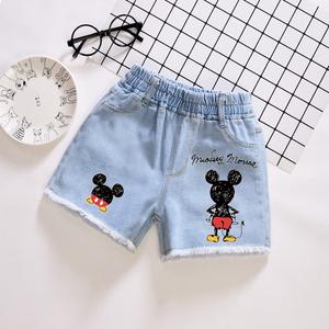 女童牛仔短裤夏季薄款2020新款女宝宝洋气裤子儿童夏装外穿百搭