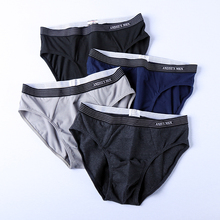 AN. DSS Men's Underwear Men's Triangle Pants Pure Cotton Personality Permeable Youth Sports Sexy Middle-waist Shorts Men