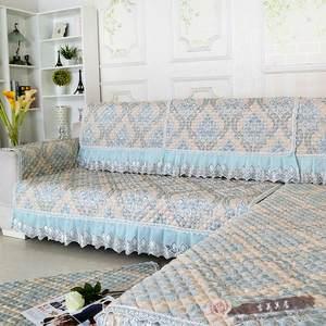 田园四季布艺防滑欧式沙发垫沙发罩巾时尚组合<span class=H>坐垫子</span>欧式沙发垫