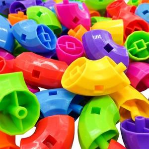 管道积木玩具益智男孩塑料大块宝宝3-6周岁百变拼装插儿童建构类