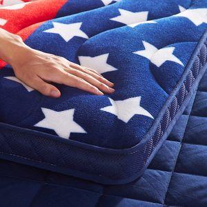 <span class=H>榻榻米</span>海绵地垫可折叠加厚冬季保暖床褥子懒人垫背<span class=H>床垫</span>打地铺睡垫
