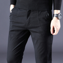Spring and Autumn Men's All-cotton Spring Trousers, Men's Trousers, Body-building Spring Dresses, New Type of Leisure Trousers, Summer Men's Wear, 2019