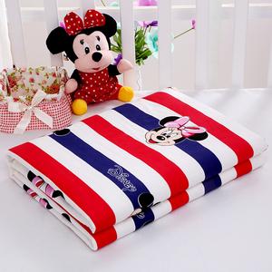 纯棉隔尿垫防水婴儿可洗婴儿床尿垫