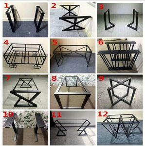 <span class=H>桌腿</span>定制实木桌面定制铁艺<span class=H>桌腿</span>桌架创意支架金属桌脚架实木板桌面