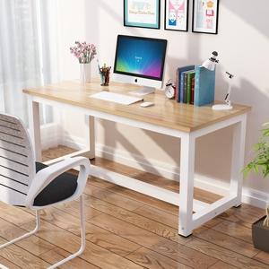 电脑桌台式家用简易<span class=H>书桌</span>现代简约学生学习桌写字桌经济型办公桌子