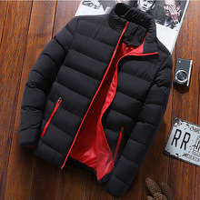 Winter down jacket, men's thickening medium and long Korean Edition, handsome, 2018 winter clothes, trend warm big coat.