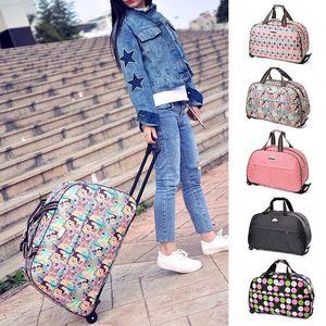 旅行包女行李包男大容量拉杆包韩版手提包休闲折叠登机<span class=H>箱包</span>旅行袋