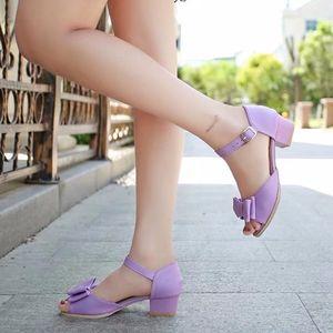 女童高跟凉鞋2018夏季新款小女孩公主鞋韩版<span class=H>儿童</span>鱼嘴灰姑娘水晶鞋