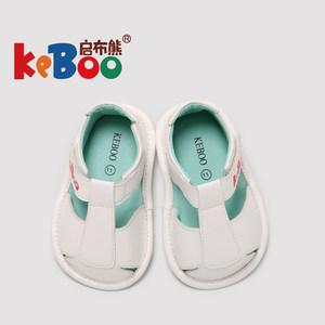 宝宝学步鞋夏女0一1-2-3岁婴儿软底防滑包头公主<span class=H>凉鞋</span>男儿童机能鞋