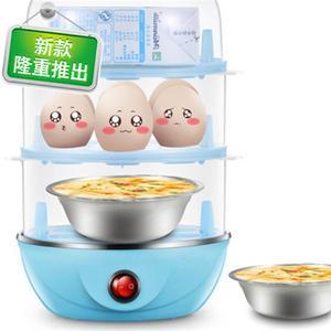 便宜的<span class=H>蒸蛋器</span>家g用多功能双层厨房电器煮蛋器蛋迷你创意小家电自