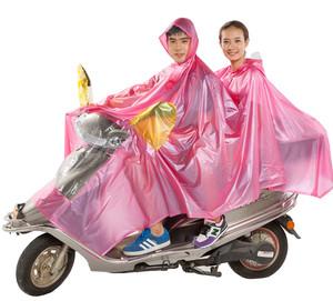 <span class=H>天虹</span>双人单人雨披加厚摩托车电动车<span class=H>雨衣</span>加大加长亲子雨披男女通用