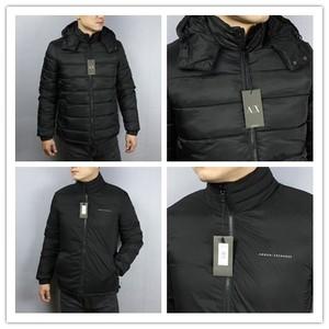 美国Armani Exchange AX男士加厚棉服<span class=H>棉衣</span>夹克外套双面穿国内现货