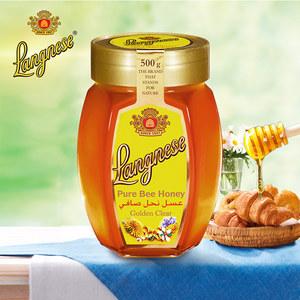 德国进口 琅尼斯 Langnese 天然多花种<span class=H>蜂蜜</span>500g瓶装无添加剂