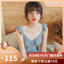 Deer Girl 2019 New Swimming Clothes Women Conservative Slim Girls Student Holiday Skirt Swimming Clothes