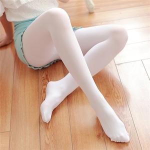 防勾丝天鹅绒连裤袜日系肉色白色丝袜夏季薄款性感显瘦打底<span class=H>袜子</span>女
