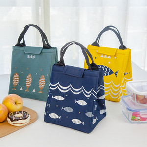 <span class=H>保温包</span>铝箔保暖野餐包便当包储奶防水手提餐包学生日式便携饭盒袋