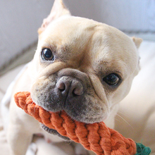 Carrot Bite Rope Pet Molar Tooth Cotton Rope Dog Training