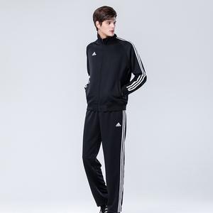 阿迪达斯2017新款男装透气<span class=H>运动</span>套装<span class=H>服</span> 宽松跑步套装外套 <span class=H>运动</span>长裤