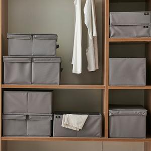 衣柜装衣服收纳箱特大号布艺牛津布玩具整理箱可折叠衣物储物盒子