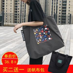 新款大容量手提单肩包短途旅行包时尚休闲<span class=H>购物袋</span>运动防水尼龙包袋