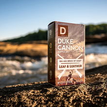 Duke Cannon-Leaf and Leather Leaf And Leather Male Bath Soap 280g