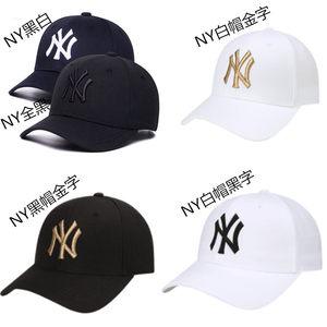 韩国<span class=H>MLB</span>棒球帽NY洋基队男女秋冬经典可调节嘻哈帽鸭舌<span class=H>帽子</span>
