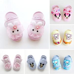 12个月1岁0男bb宝宝6新生8幼儿女婴儿春鞋子学步春秋季款软底<span class=H>布鞋</span>
