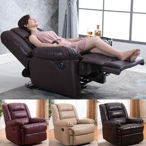 头等太空<span class=H>沙发</span>舱布艺单人懒人摇椅电动美甲美睫多功能客厅欧式躺椅
