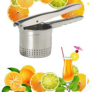 304不锈钢手压榨汁机手动甘蔗果汁家用扎水果橙子挤压器