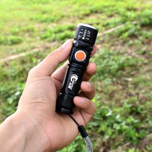 迷你<span class=H>手电</span>筒小便携家用强光充电超亮led户外钥匙手灯远射小型袖珍