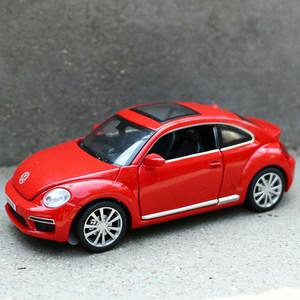 合金<span class=H>车模</span>型1£º32仿真小汽车玩具大众甲壳虫迷你开门金属汽车礼物