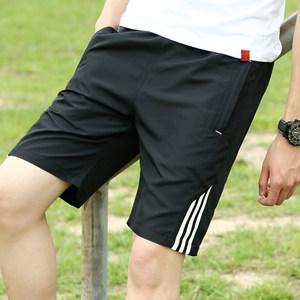 夏季<span class=H>短裤</span>男士五分裤宽松马裤5分中裤子男裤夏天大裤衩6跑步运动裤