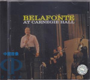 【中图音像】BELAFONTE 贝拉方提在卡内基音乐厅 TAS榜单 60062R