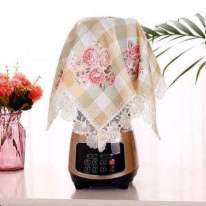 家用破壁机豆浆机榨汁机料理机防尘罩电饭煲厨房小电器盖布防尘巾